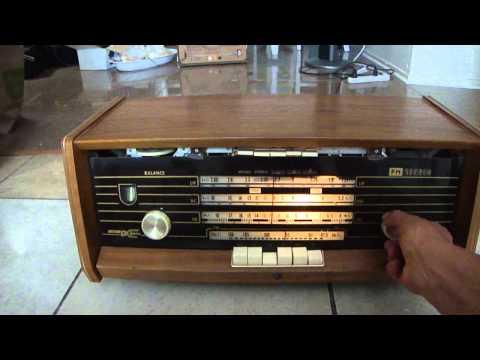 Vintage Philips  radio receiver Holland