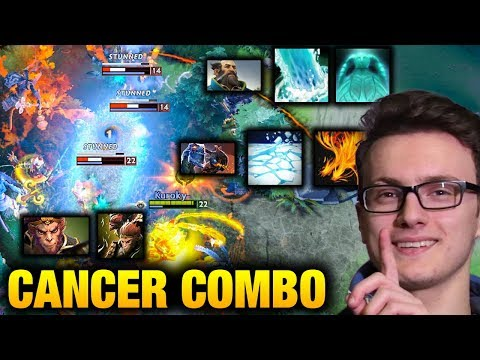 Miracle- Monkey King with CANCER WOMBO COMBO - Dota 2