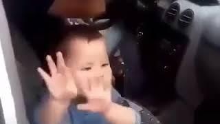 Funny baby dance