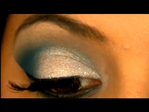Ultimate Glam Blue Eyes & Face Makeup For Brown/Tan or Indian Skin Tone