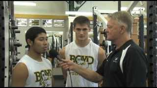Coach's Corner - Boyd Yellowjackets - Sept. 26, 2012