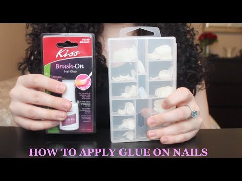 Tutorial: How to Apply Glue On Nails & Make Them Last!