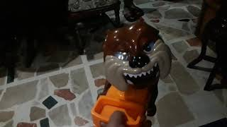Bad dog toy review by Geanina and guest Luigi (with bloopers tagalog)
