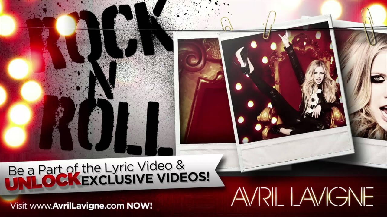 """Avril Lavigne """"Rock N Roll"""" (Official Audio) - YouTube"""