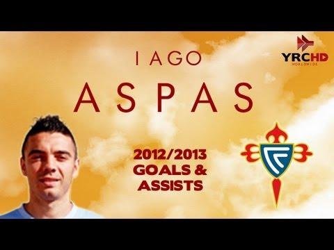 Iago ASPAS - Goals & Assists - Celta Vigo - 2012/2013 - HD