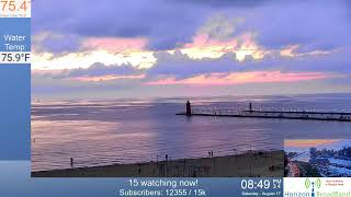 Beautiful Sunset LIVE South Haven Live 8.17.2019