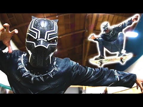 IF BLACK PANTHER WAS A SKATER!