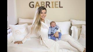 Andressa Suita apresenta o quarto de bebê do Gabriel