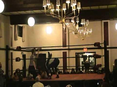 Warriors of Wrestling's first match...Hulko vs Kross 12/1/07