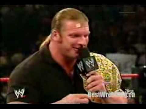 Triple H disses austin funny Video