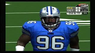 Philadelphia Eagles vs Detriot Lions (WK 3) NFL 2K5