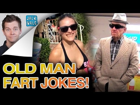 FARTING OLD MAN IS BACK!