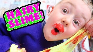 Miranda Sings Makes Slime! (Hairy Slime diy tutorial) (VIRAL VIDEO)