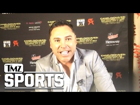 Oscar De La Hoya Invites Trump to Canelo Fight, See What Mexicans Can Do! | TMZ Sports