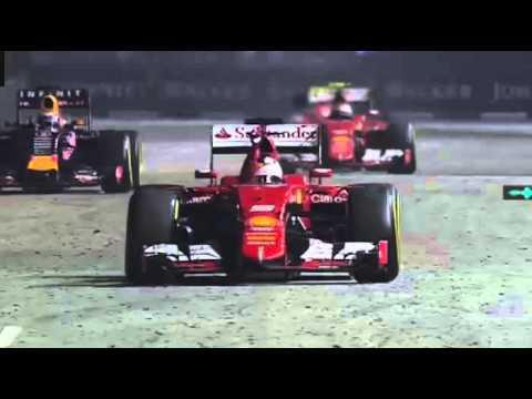 Sebastian Vettel - Ferrari Team Radio Message after 2015 Singapore GP