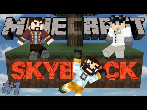 Minecraft Hardcore Skyblock Part 1: From Nothing Agrarian Skies Mod Pack