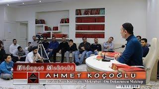Ahmet Koçoğlu - Risale-i Nur Külliyatı - Mektubat - On Dokuzuncu Mektup