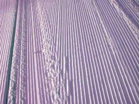 野沢温泉スキー場の頂上よりそして・・・クラッシュ