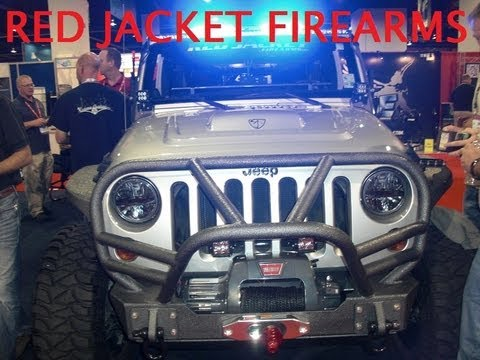 Red Jacket Will Haydens personal Jeep by Extreme Outfitters