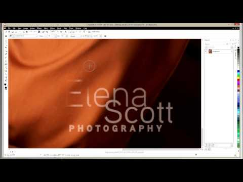 Corel Draw Removing Details with  Photo Paint Clone Tool
