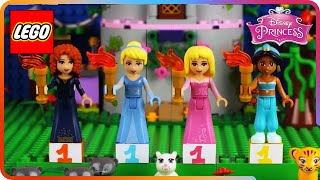 ♥ LEGO Disney Princess Royal Tournament (Cinderella, Jasmine, Aurora & Merida)