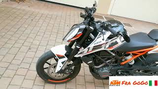 KTM Duke 125 2017 | Tuning and Powerparts Modify