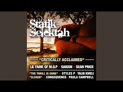 Critically Acclaimed (feat. Lil Fame of M.O.P., Saigon, Sean Price) (Radio)