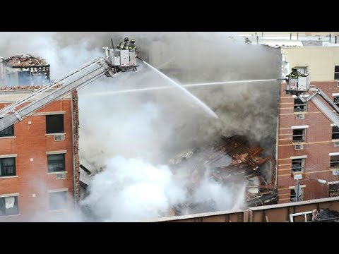 New York City Building Explosion & Collapse Press Conference