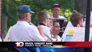The sound of music filled the air of one local park