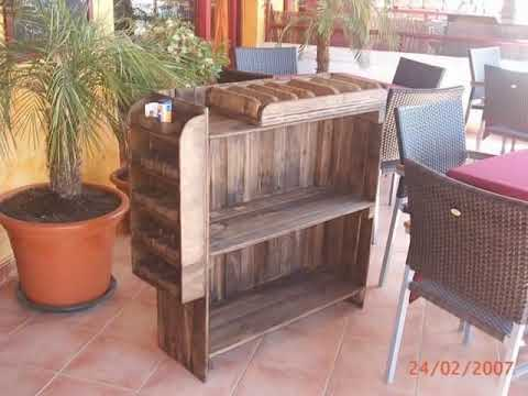 Palets y alguna madera más, Wooden pallets and some more