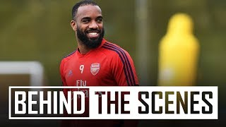 Alexandre Lacazette returns to training | Behind the scenes