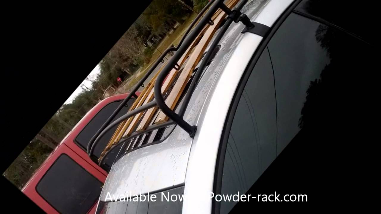 vw beetle roof rack  dw concepts youtube
