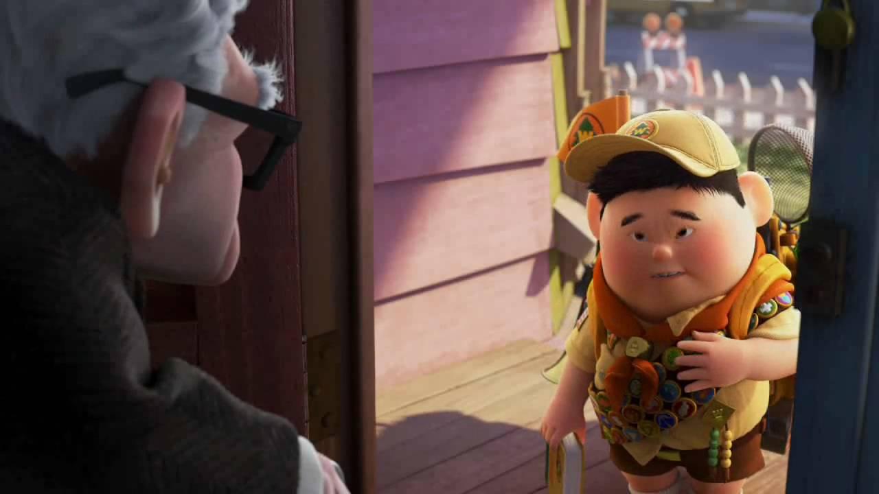 Nueva teor a pixar est muerto el abuelo de up for Espejo q aparece en una pelicula