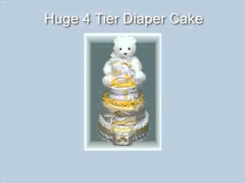 how to make diaper cake.diaper cake tutorial.diy diaper cake.how to make a diaper cake.diaper cake