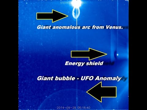 Alien Anomalies on Venus and the giant bubble - a UFO in our solar system - October 2, 2014