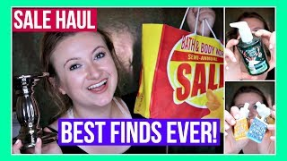 Bath and Body Works BEST SEMI ANNUAL SALE HAUL EVER! RARE Finds + Holiday Items! | MissGlamBAM