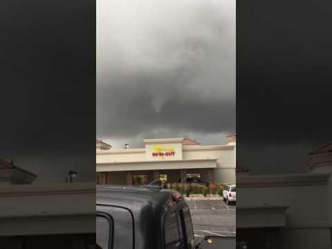 Rare Utah Small Tornado South Ogden Utah 9/22/2016