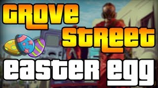 """Grand Theft Auto 5 Theory - Grove Street RETURNING!? """"EASTER EGG"""" (OFFICIAL GTA 5 Footage!)"""