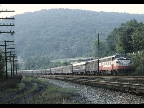 Farewell to the Western Maryland, WM F's. F7's with Great horns,  (Part II)  9/01/1979