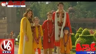 Canadian PM Justin Trudeau And Family Adores Donning Traditional Indian Outfits | Teenmaar News