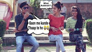 Bluetooth Call Prank On Girls   Flirting With Cute Girls   Ar Prank