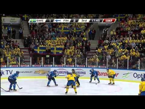 2014 World Junior Championship  Final Sweden vs Finland
