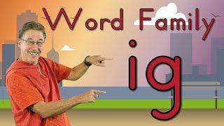 Word Family -ig | Phonics Song for Kids | Jack Hartmann