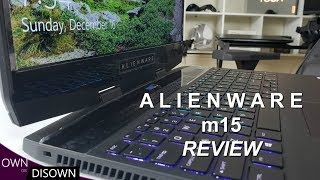 Alienware m15  - Better than The Zephyrus S and Razer 15?