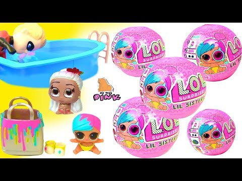 #ЛОЛ Шарики с Сюрпризом LOL Little Baby Dolls Eye Spy Wave 2 Куклы ЛОЛ Сестренки - Шпионки Girl Toys