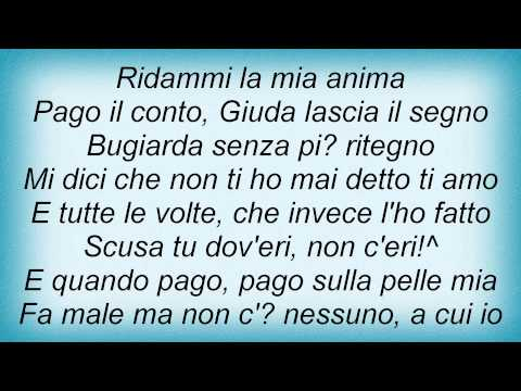 Biagio Antonacci - Pago Il Conto