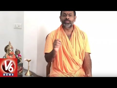 Paripoornananda Swami Demand Police Dept To Arrest Babu Gogineni | V6 News