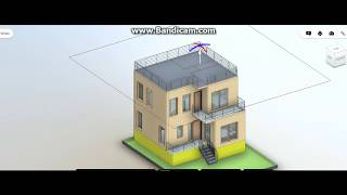 30X40 West face duplex house plan || 3 Bedrooms || Car Parking || Balcony || Gardening