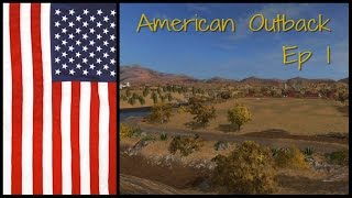 Let's Play Farming Simulator 17 PS4: American Outback, Ep 1