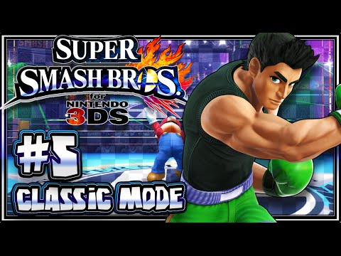 Super Smash Bros 3DS - (1080p) Part 5 - Classic Mode w/Little Mac